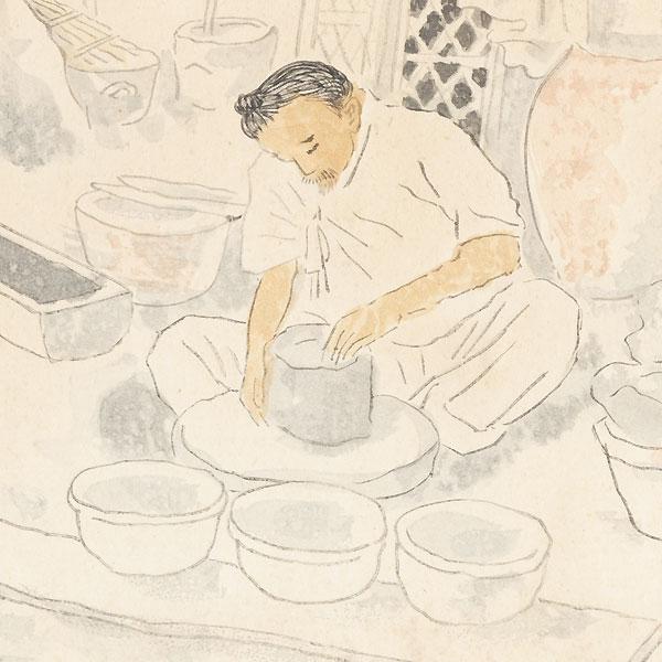 Potter, 1940 by Wada Sanzo (1883 - 1968)