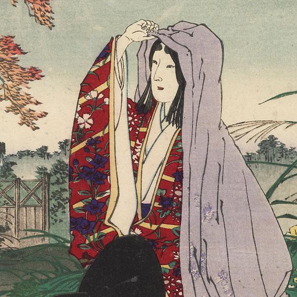 Hotoke Gozen by Yasuji Inoue (1864 - 1889)