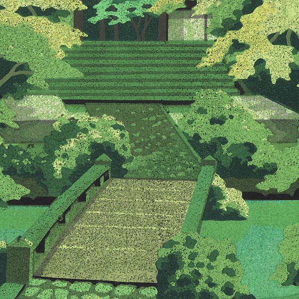 Green Ray, 1993 by Masao Ido (1945 - 2016)