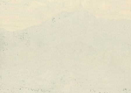 Sacred Mountain Ishizuchi (B), 1995 by Masao Ido (1945 - 2016)