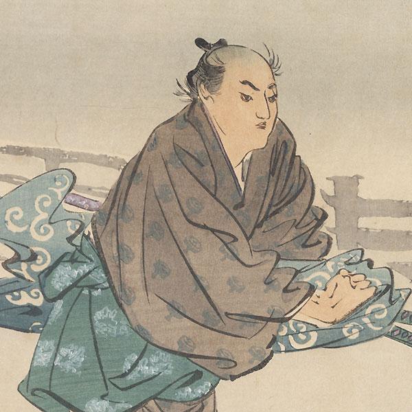 Yokokawa Kanbei Munetoshi by Gekko (1859 - 1920)