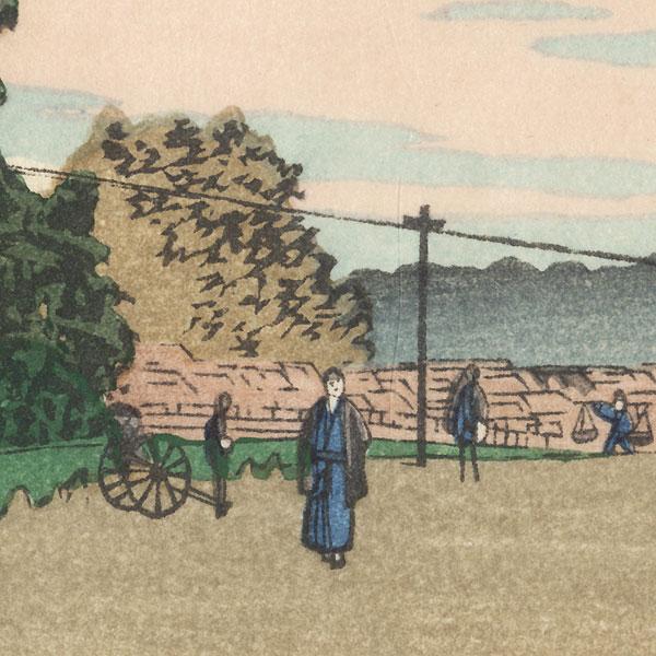 Kinokuni Hill, Akasaka by Yasuji Inoue (1864 - 1889)