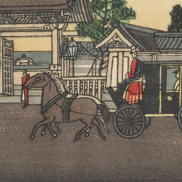The Temporary Palace at Akasaka by Yasuji Inoue (1864 - 1889)