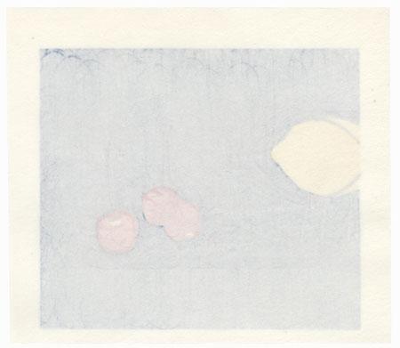 Lemon and Cherries, 1986 by Yoshisuke Funasaka (born 1939)
