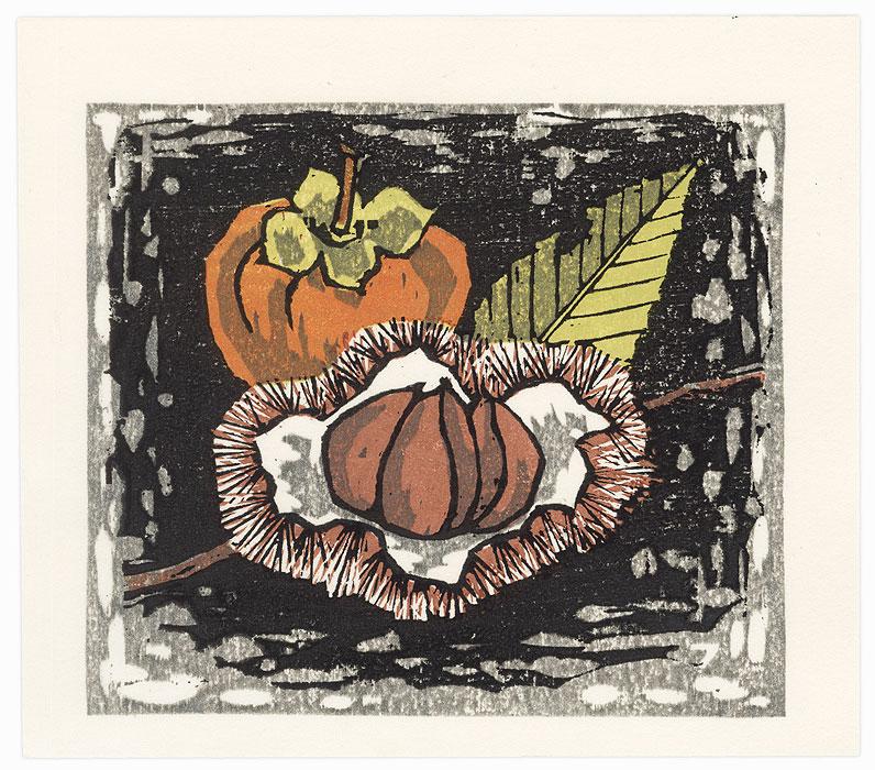 Autumn Fruit, 1986 by Fumio Fujita (born 1933)