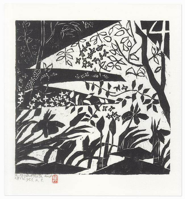 Iris by Munakata (1903 - 1975)