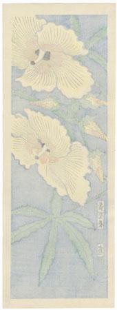 Sunset Hibiscus by Tokuriki (1902 - 1999)