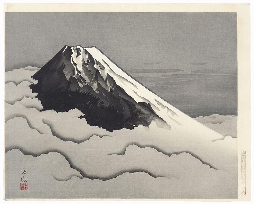 Mt. Fuji by Yokoyama Taikan (1868 - 1958)