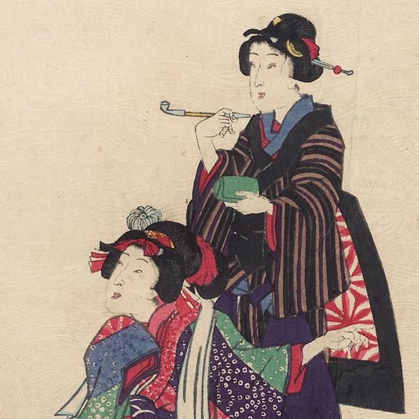 Shiigamoto, Chapter 46 by Kunisada II (1823 - 1880)