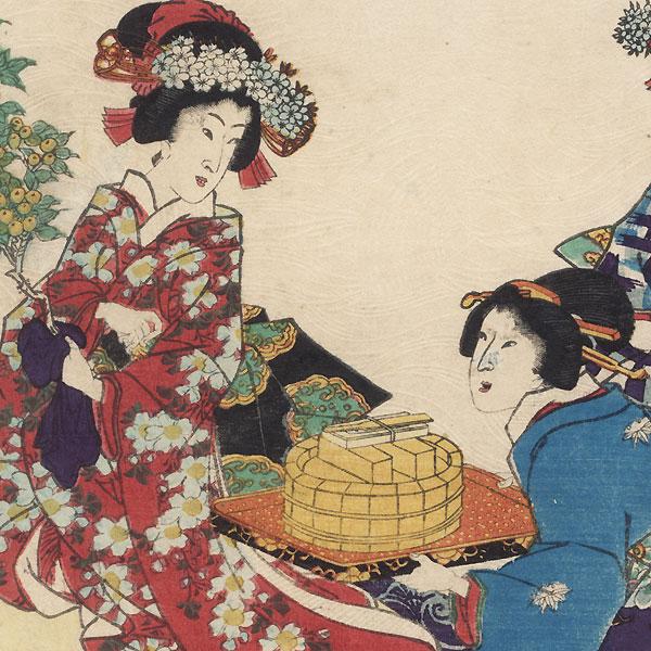 Hashihime, Chapter 45 by Kunisada II (1823 - 1880)