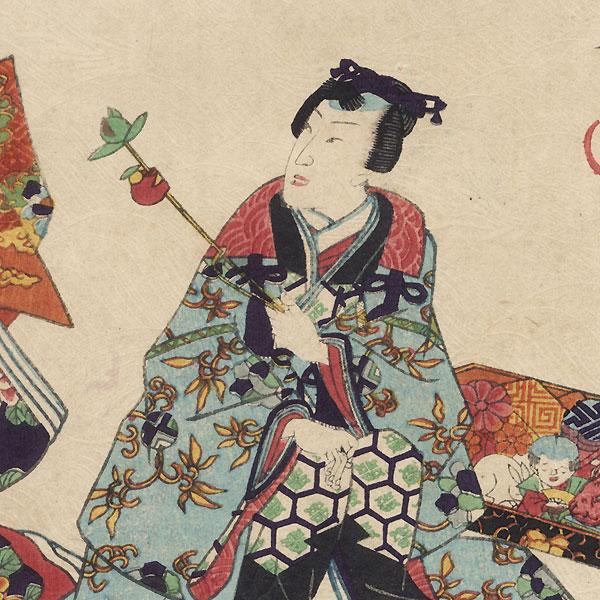 Niou no miya, Chapter 42 by Kunisada II (1823 - 1880)