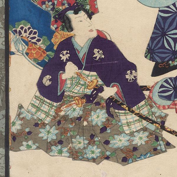 Maboroshi, Chapter 41 by Kunisada II (1823 - 1880)