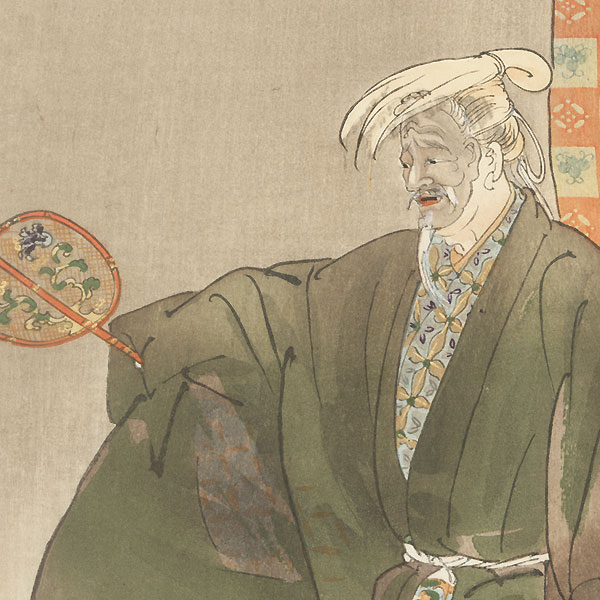 Tosen by Tsukioka Kogyo (1869 - 1927)