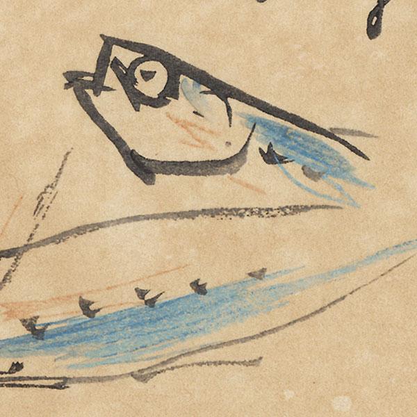 Fish by Takeuchi Seiho (1864 - 1942)
