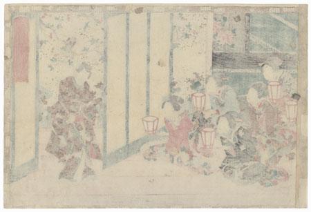 Aoi, Chapter 9 by Toyokuni III/Kunisada (1786 - 1864)