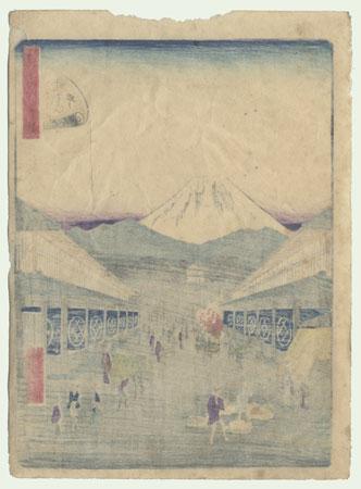 Suruga-machi by Hiroshige II (1826 - 1869)