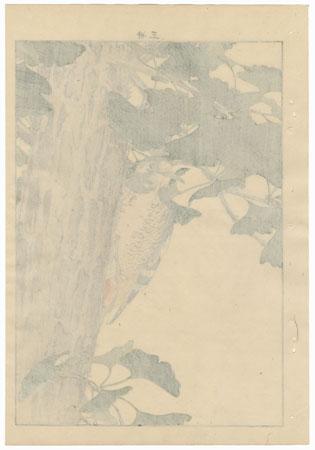 Single oban original - Autumn Group, 1891 by Imao Keinen (1845 - 1924)