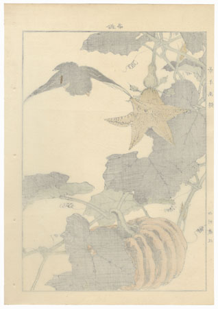 Single oban original - Autumn Group, 1891 by Imao Keinen (1845 - 1924)