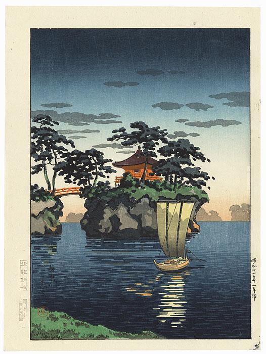Matsushima, 1936 by Tsuchiya Koitsu (1870 - 1949)