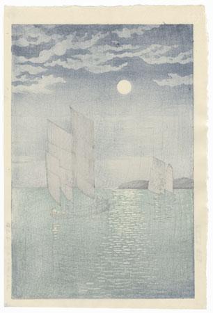 The Coast of Shinagawa, 1935 by Tsuchiya Koitsu (1870 - 1949)