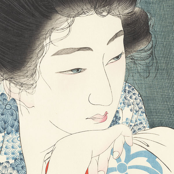 Morning Hair by Torii Kotondo (1900 - 1976)