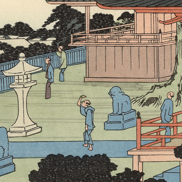 Autumn Moon at Tamachi by Hiroshige (1797 - 1858)
