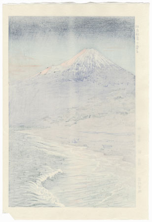 Mt. Fuji from Hagoromo, circa 1950s by Okada Koichi (1907 - ?)