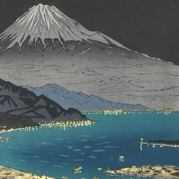 Mt. Fuji from Nihondaira, circa 1950s by Okada Koichi (1907 - ?)