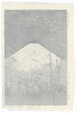 Mt. Fuji from Hakone, circa 1950s by Okada Koichi (1907 - ?)