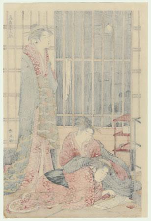 The Ninth Month  by Kiyonaga (1752 - 1815)