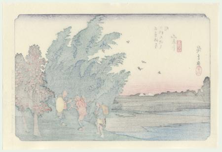 Mieji, No. 56 by Hiroshige (1797 - 1858)