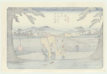 Takamiya, No. 65 by Hiroshige (1797 - 1858)
