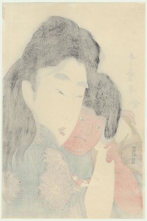 Yamauba and Kintaro by Utamaro (1750 - 1806)