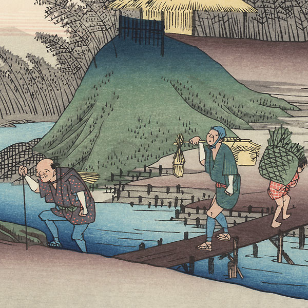 Yawata by Hiroshige (1797 - 1858)