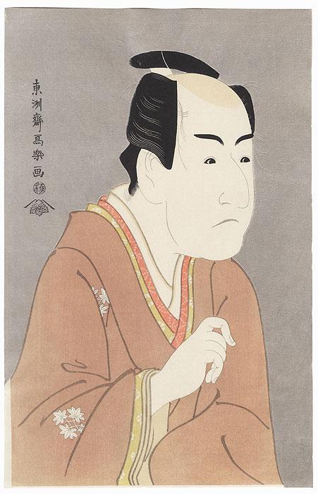 Ichikawa Monnosuke II as Date-no Yosaku by Sharaku (active 1794 - 1795)