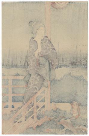 Moon Light at Takanawa, 1856 by Hiroshige (1797 - 1858)