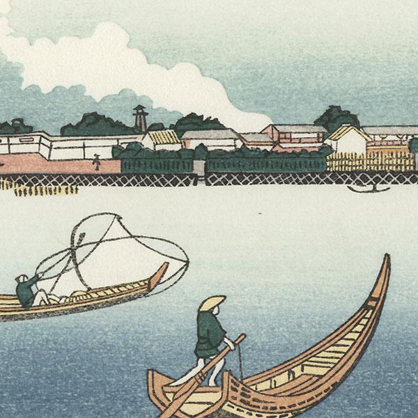 Ryogoku by Edo era artist (unsigned)