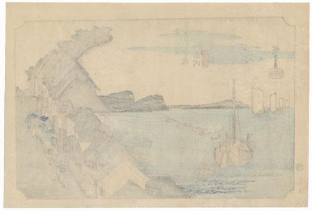 Kanagawa by Hiroshige (1797 - 1858)