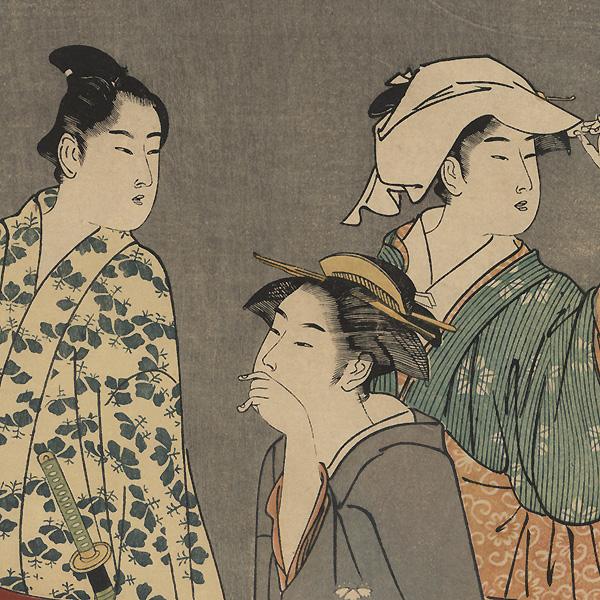 The Seventh Month by Kiyonaga (1752 - 1815)