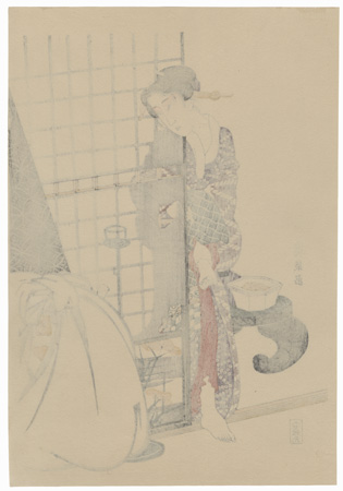 Beauty in Private Quarters by Eisen (1790 - 1848)