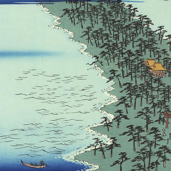 Tango Province, Ama no hashidate by Hiroshige (1797 - 1858)