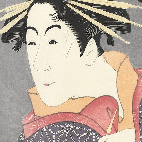 Matsumoto Yonesaburo as Shinobu by Sharaku (active 1794 - 1795)