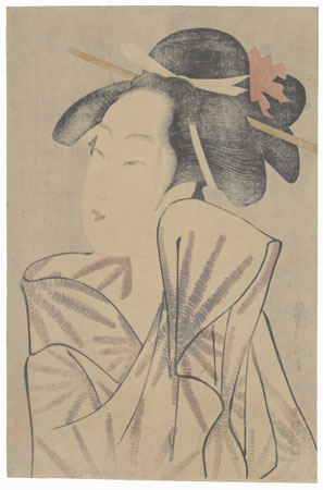 Kasugano of the Sasaya by Eisho (active circa 1790 - 1799)