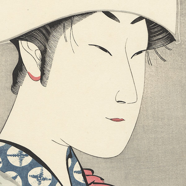 The Actor Nakamura Noshio II as White Fox Disguised as Kuzunoha by Kunimasa (1848 - 1920)