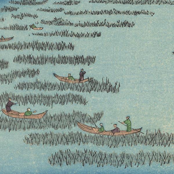 Minami-Shinagawa and Samezu Coast by Hiroshige (1797 - 1858)