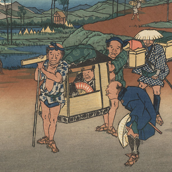 Kumagaya by Eisen (1790 - 1848)