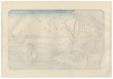 Okegawa: View of the Plain by Eisen (1790 - 1848)