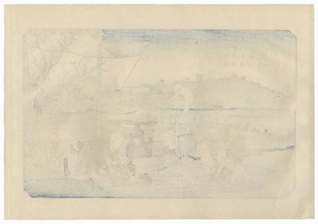 Kuragano, Station 13 by Eisen (1790 - 1848)