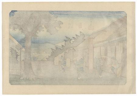 Imasu, Station 60 by Hiroshige (1797 - 1858)