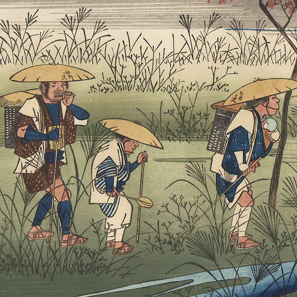Odai by Hiroshige (1797 - 1858)
